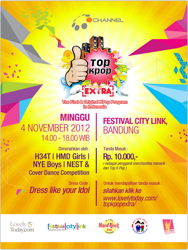 Top K-Pop: The First & Original K-Pop Program in Indonesia