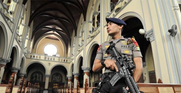 Pengamanan Gereja