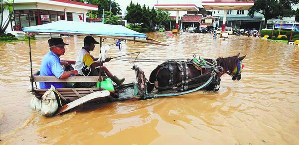 Baleendah, dayeuhkolot dan sekitarnya masih banjir