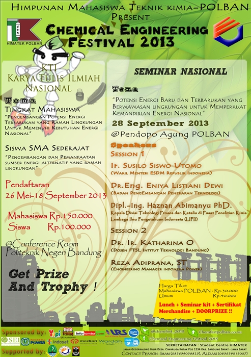 Chemical Engineering Festival 2013