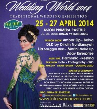 World Wedding 2014 Bandung