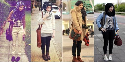 Busana Hijab Buat Si Tomboy
