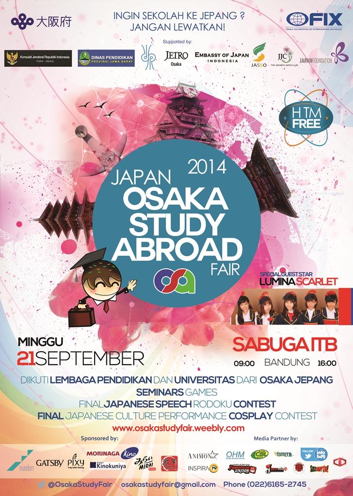 Japan Osaka Study Abroad Fair 2014