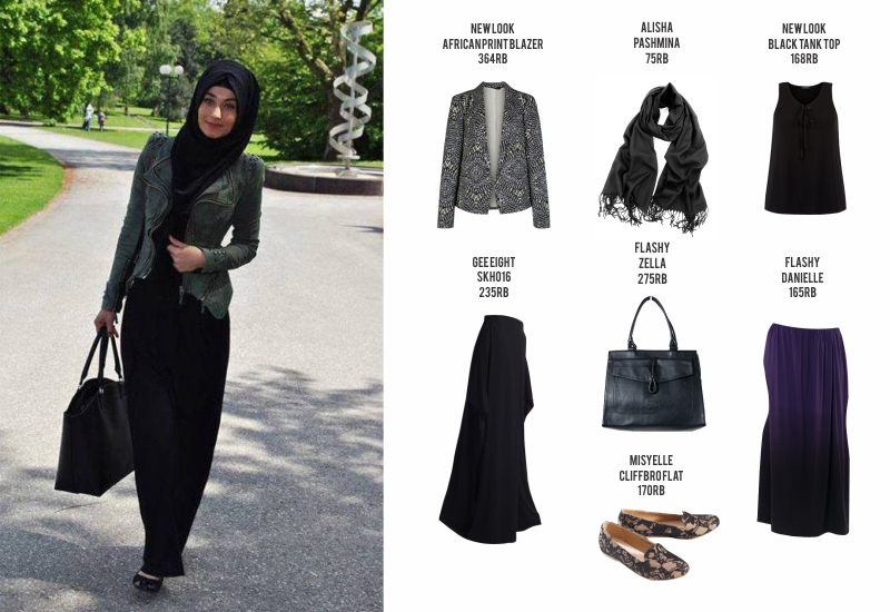 Fashion Guide Casual Hijab Office Style