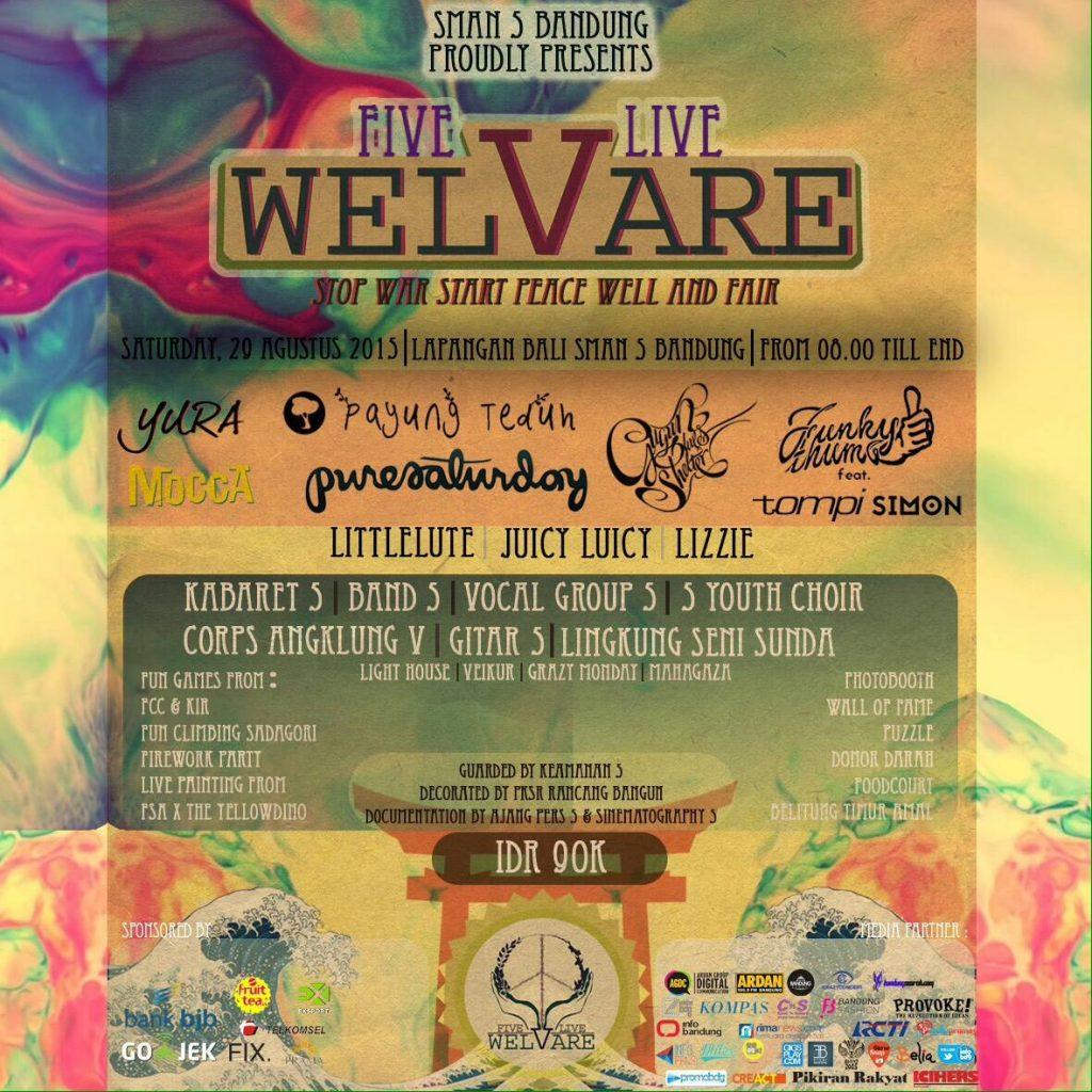SMAN 5 Wel Vare Five Live Agustus 2015