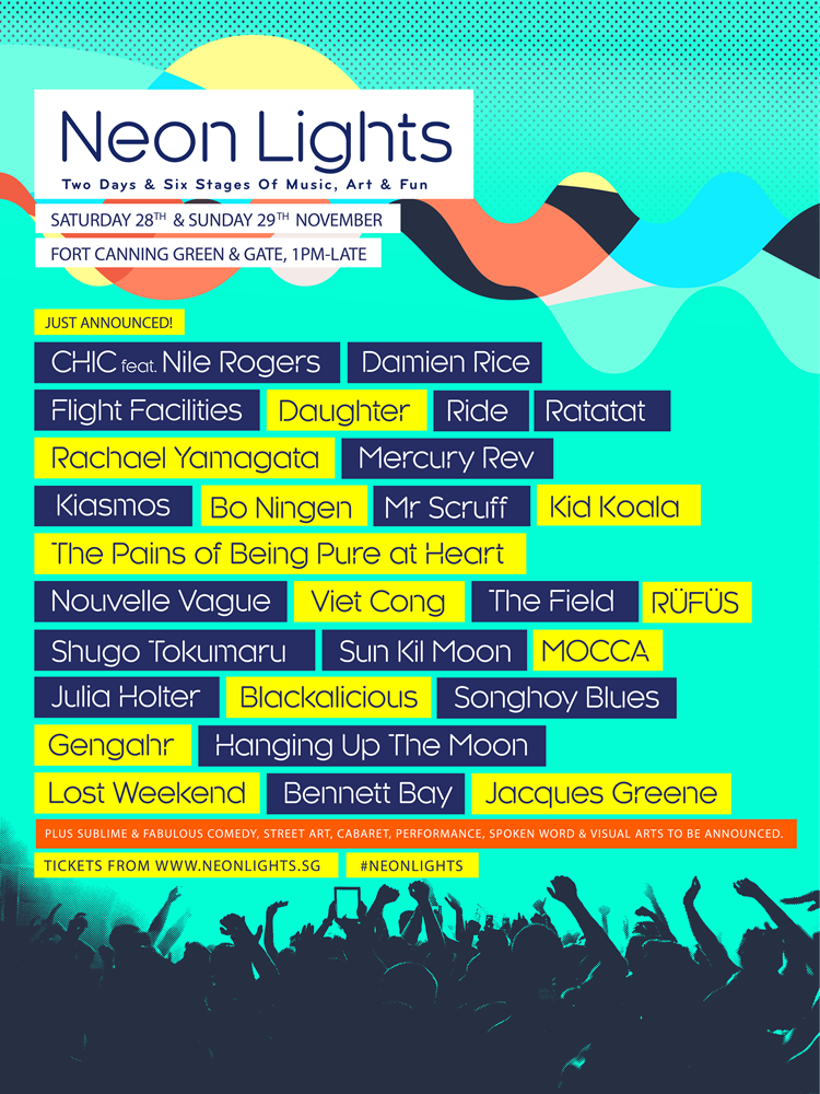 Neon Lights 2015 poster