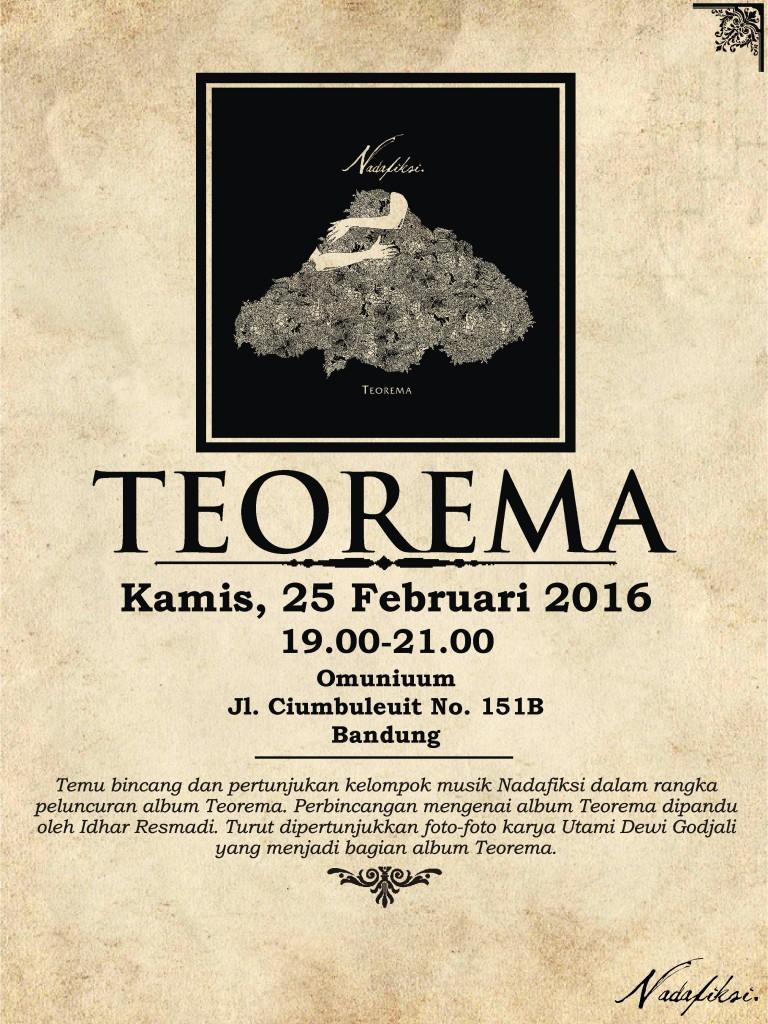 Teorema Release Event