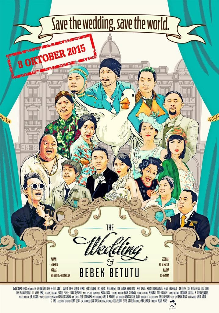 pemain-extravaganza-reuni-di-trailer-the-wedding-bebek-betutu