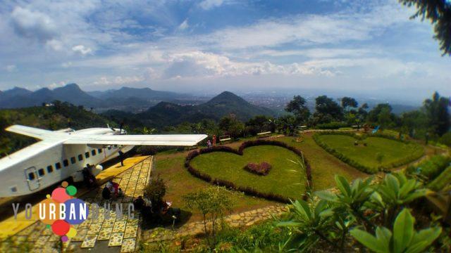 Taman Cinta Soreang, Lokasi Romantis dengan Pemandangan Fantastis