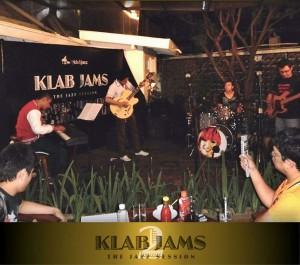 Event Klab Jazz dinamakan Klab Jams