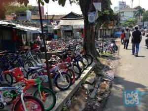 Sentra Sepeda dan Bengkel Sepeda di Kota Bandung