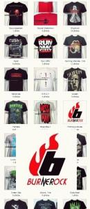 burnerocks catalog