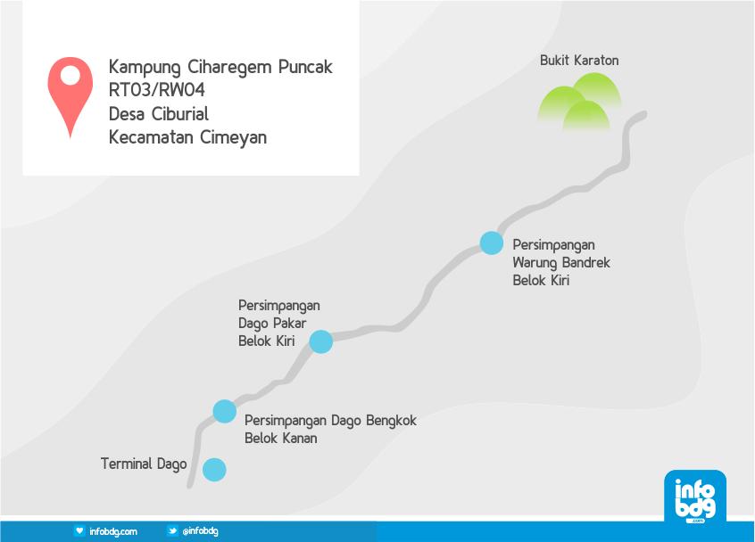 path to tebing karaton