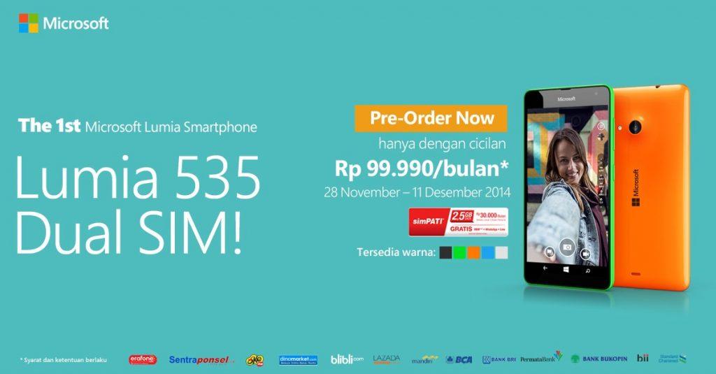 image preorder Lumia535