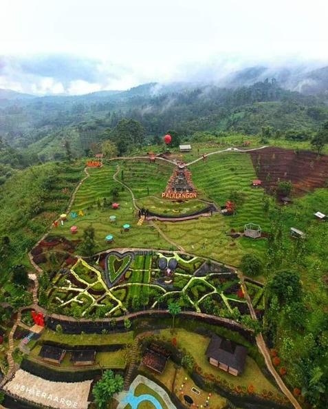 Palalangon Park Objek Wisata Keluarga Baru Di Kawasan Ciwidey