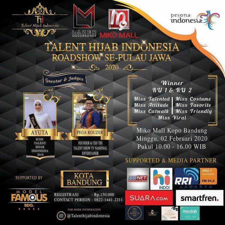 Talent Hijab Indonesia Roadshow Se-Pulau Jawa 2020